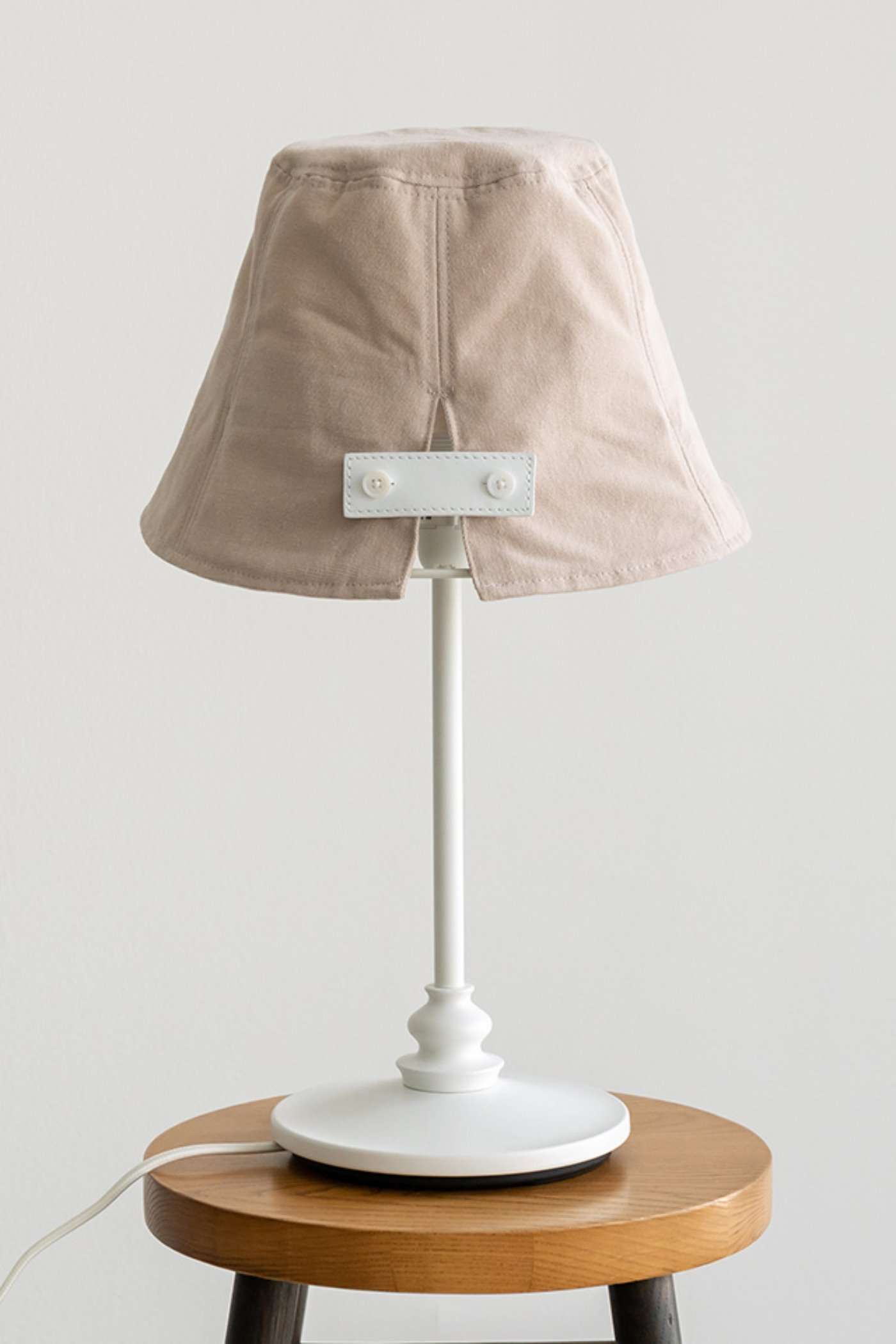 Reversible-bucket hat(Beige) #C7S7ac-305