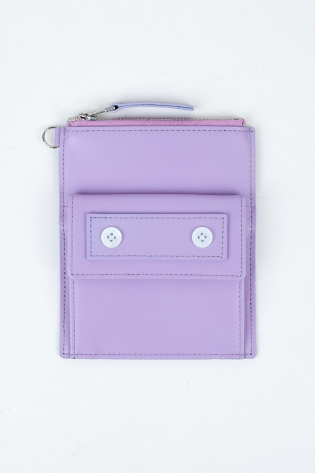Seoul metro wallet (Purple)  [Unisex]