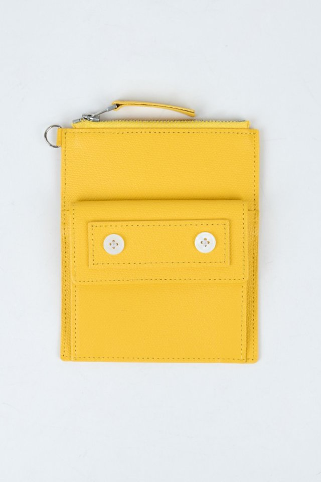 Seoul metro wallet (Yellow)  [Unisex]