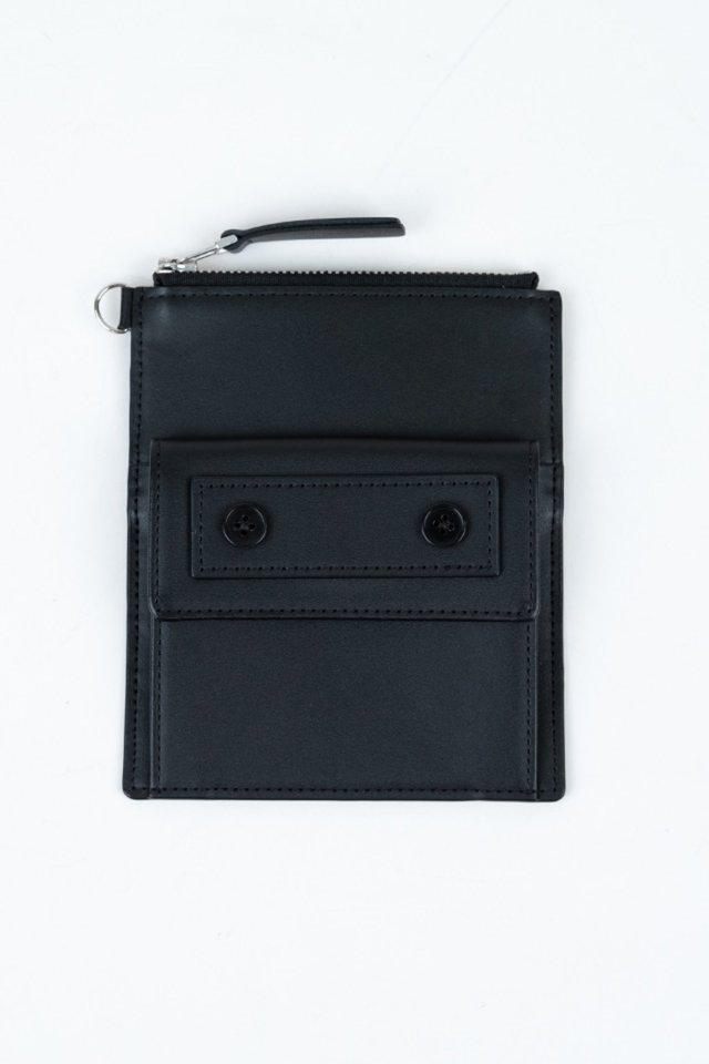 Seoul metro wallet(Black)#C7Sac-306
