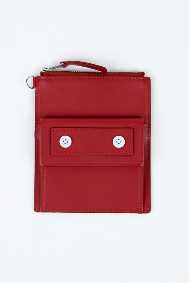 Seoul metro wallet(Red)#C7Sac-306