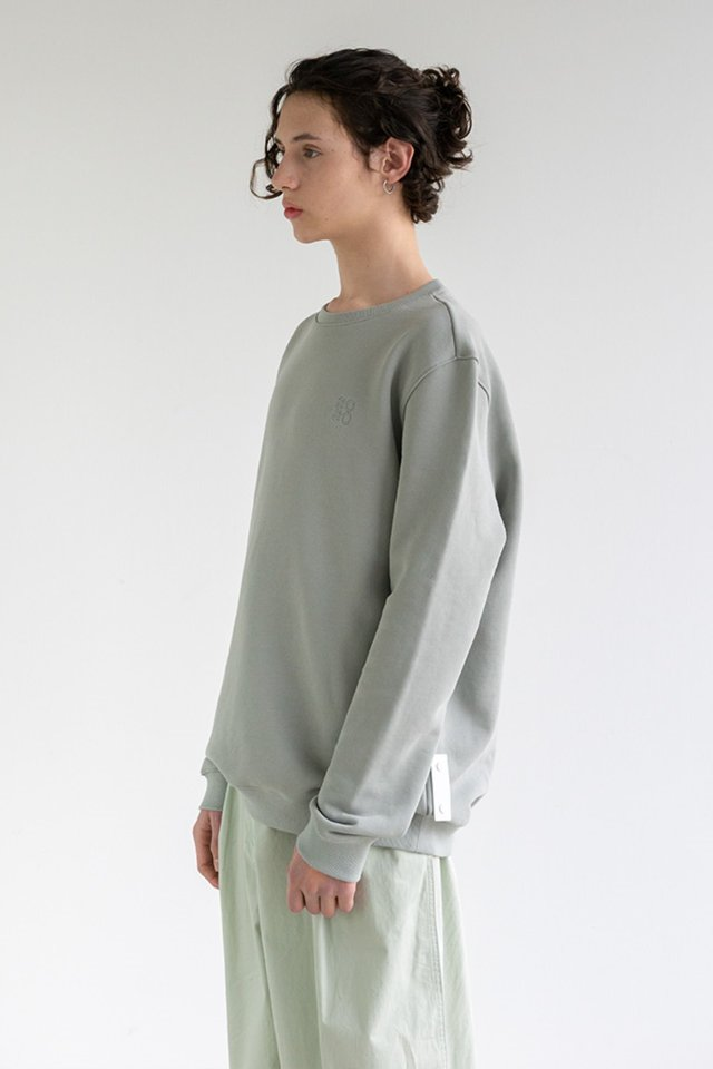 2020 Sweat shirt (Mint gray)  [Unisex]
