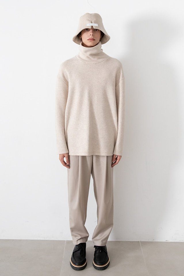 Over neck knit (Ivory)  [Man]